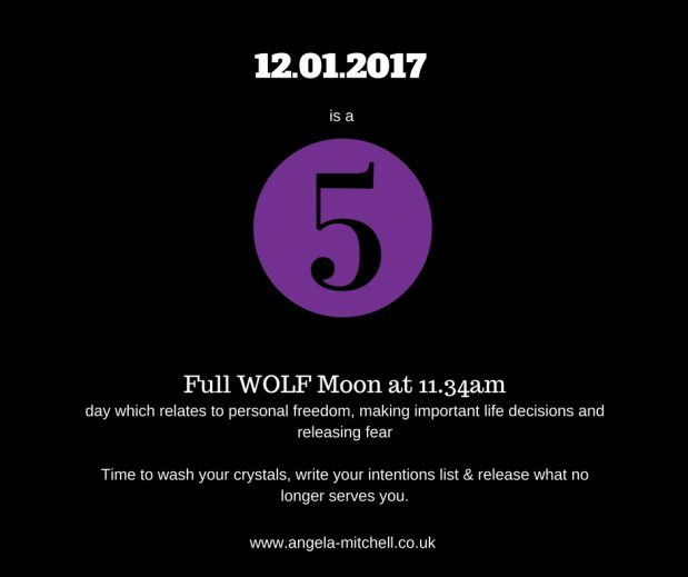 January's Full Wolf Moon