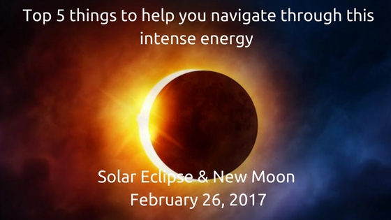 Solar Eclipse & February's New Moon – Energy Guide