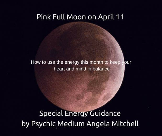 "April's ""Pink""Full Moon Brings Balance and Compassion"