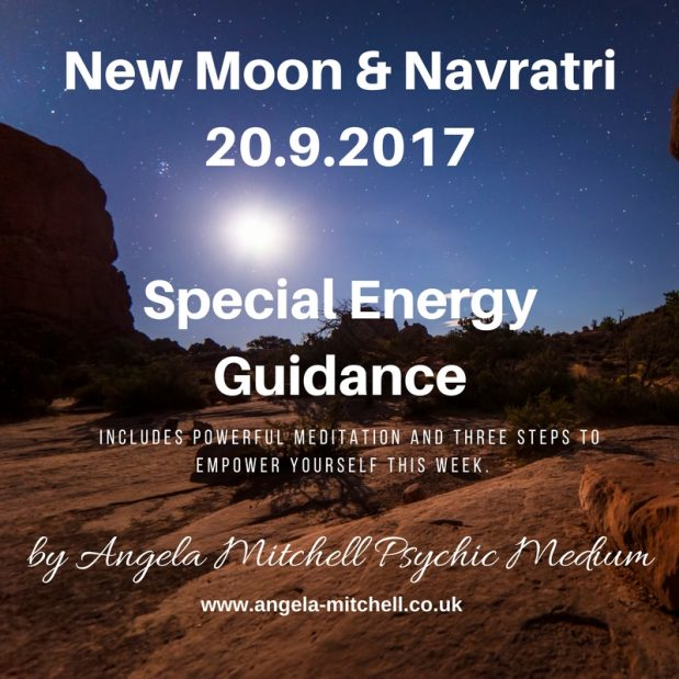 The New Moon & Navatri – Facing our Inner Darkness to see the Light