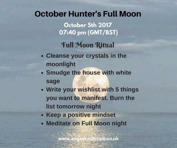 October's Hunter's Full Moon – Leap of Faith
