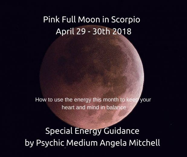 April's Pink Full Moon in Scorpio –