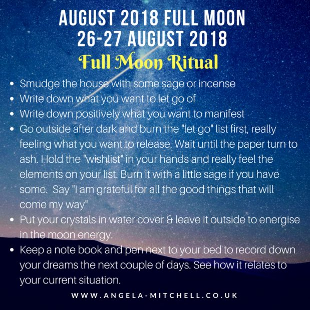 August Full Moon – The Next Steps