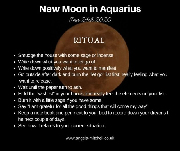 First New Moon of 2020 Ritual & Guide