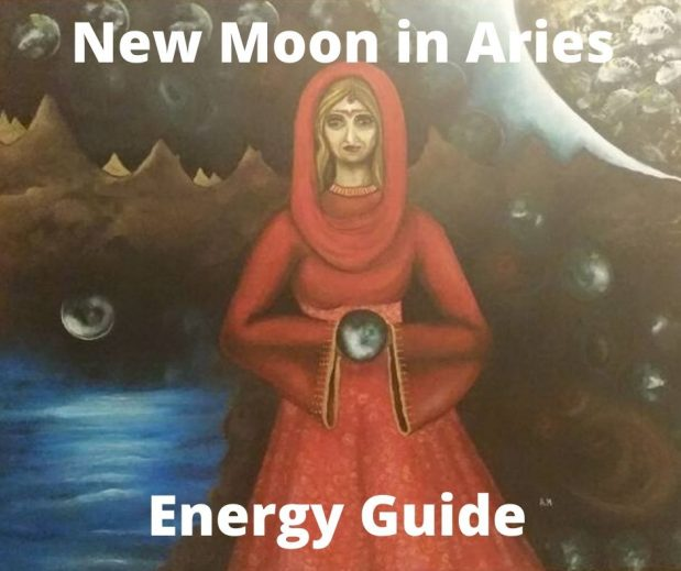 "New Moon in Aries – Time for ""I"""